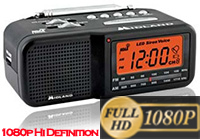 Phanthom Ray MD Clock Radio Hidden Camera BW Hi-Res