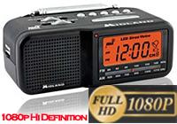 Phanthom Ray MD Clock Radio Hidden Camera BW Hi-Res