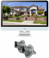 Zeus 2 Camera / 16 Inch All-in-One Monitor NVR Kit Complete Survillance System