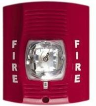 SecureGuard Battery Powered Fire Alarm Strobe Light Spy Camera (30 Day Battery)