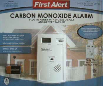 SecureGuard Carbon Monoxide Alarm Wireless IP Spy Camera