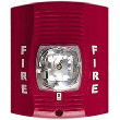 Strobe Lght Fire Alarm IP Spy Camera