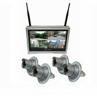 Zeus 4 Camera / 12 Inch All-in-One Monitor NVR Kit Complete Survillance System