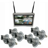 Zeus 8 Camera / 12 Inch All-in-One Monitor NVR Kit Complete Survillance System