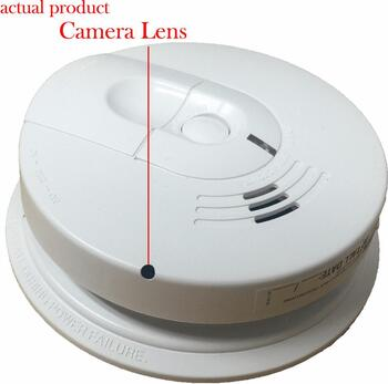 K4618 1080P WiFi Smoke Detector Spy Camera (Custom