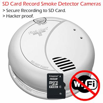 Smoke Detector Spy Cameras All Variations