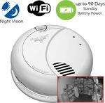 Secureguard Night Vision Wi-Fi Smoke Detector Spy Camera (B7010 Model)