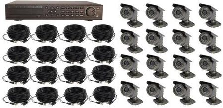 16 Channel Hardwired System W/O Monitor