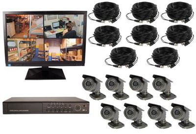 8 Channel Wired DVR Complete System
