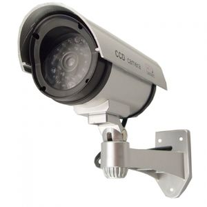 5 inch IR Dummy Camera-Outdoor Housing-Solar Powered Light