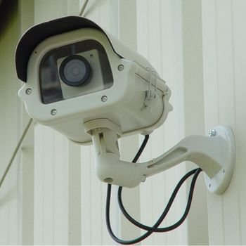 9 Inch Heavy Duty Dummy Camera in Outdoor Housing w/Light