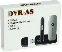 USB-DVR Spy Camera with 4 GB Built-In Memory
