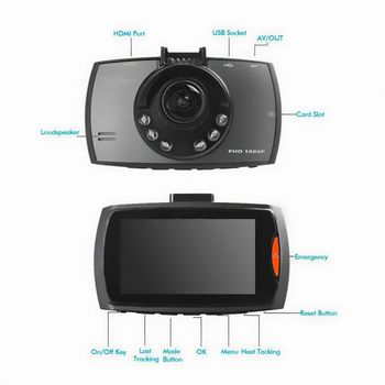 Car DVR HD Recorder w/8GB