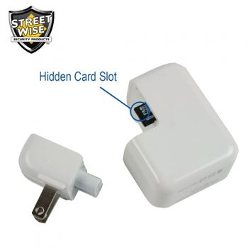 Streetwise USB Block Charger Spy Camera/DVR