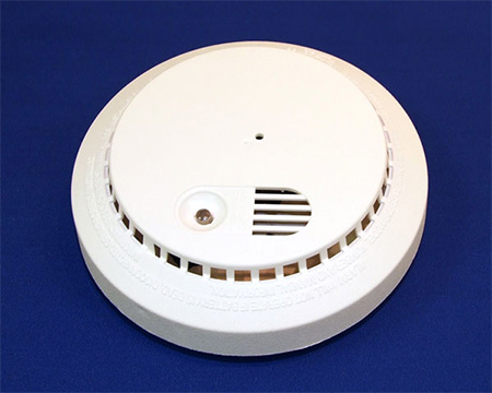 wireless smoke detector hidden color spy camera. Black Bedroom Furniture Sets. Home Design Ideas