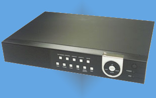 EZ-Networkable 4 Camera H.264 DVR w/ 250GB HDD & Mouse Interface