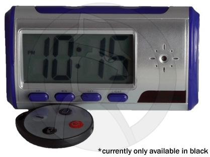 Portable Desk Clock Hidden Camera