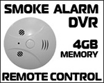 Hi-Res Smoke Detector Spy Camera DVR w/ 4GB & Remote