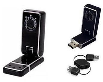 USB 1.3 MP Webcam w/ 360 Rotation