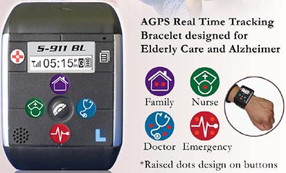 Gps S 911 Medical Bracelet