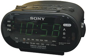 Alarm Clock With Camera