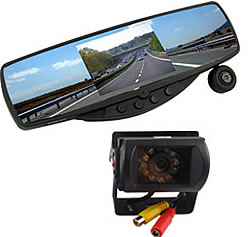rearview mirror hidden camera with audio. Black Bedroom Furniture Sets. Home Design Ideas