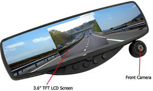 rearview mirror camera