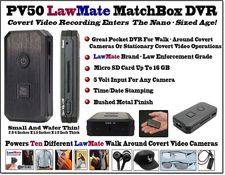 LawMate Covert Matchbox Sized DVR