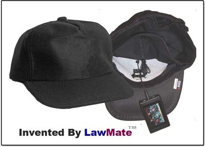 Law Enforement Grade Baseball Hat Spy Camera Kit w/DVR