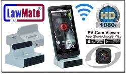 Hi-Def Android/iPhone WiFi Dock Station Spy Cam/DVR