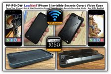 LawMate iPhone 6 Hi-Def Covert Video Case w/WiFi