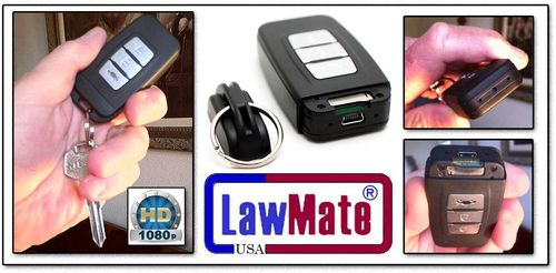 LawMate Hi-Def Key Chain Spy Camera/DVR