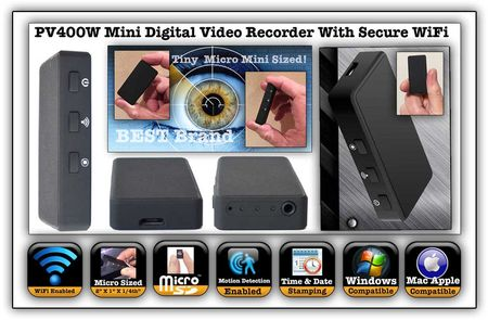 WiFi Digital Video Recorder w/Button Kit