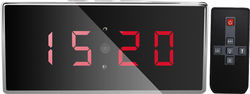 Desk Clock Spy Camera/DVR w/Night Vision