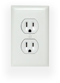 High-Def WiFi Wall Outlet Spy Camera/DVR