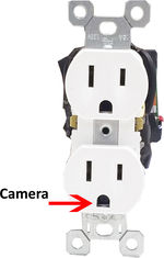 Bush Baby WiFi Wall Outlet Receptacle Spy Camera/DVR