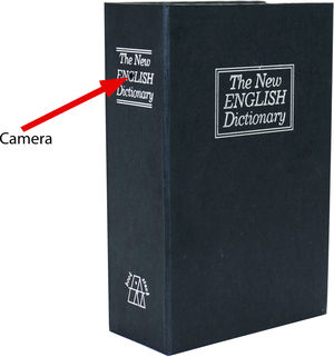 Hi-Def Dictionary Spy Camera/DVR