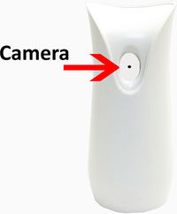 Bush Baby Stealth Hi-Def Air Freshener Spy Camera/DVR