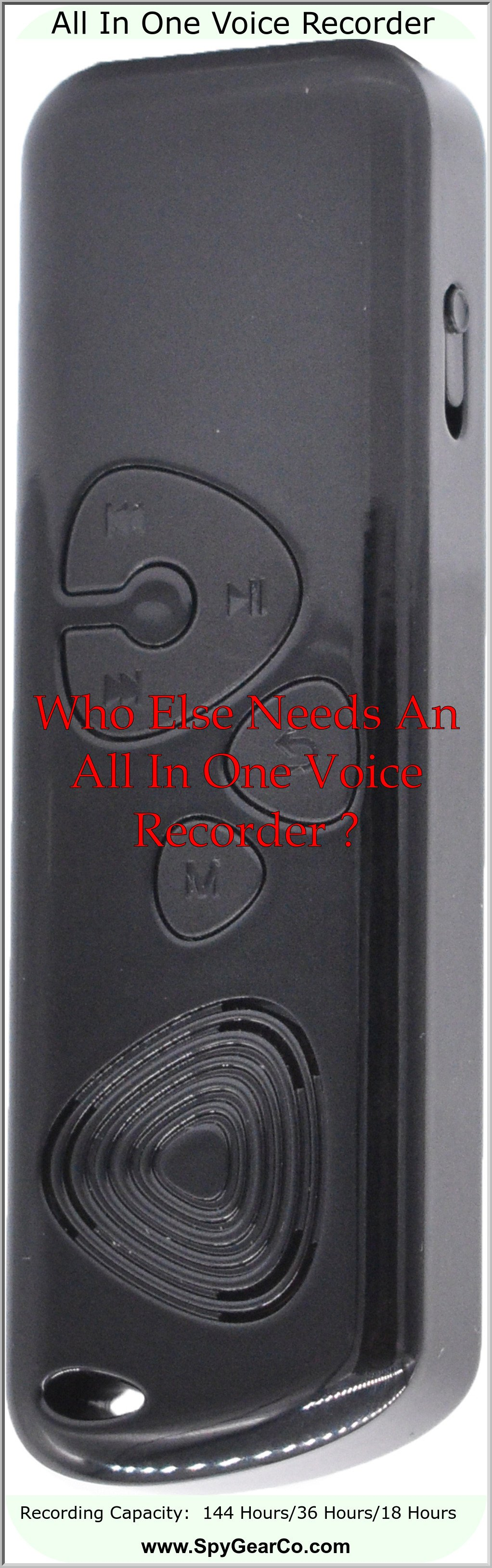 All In One Voice Recorder