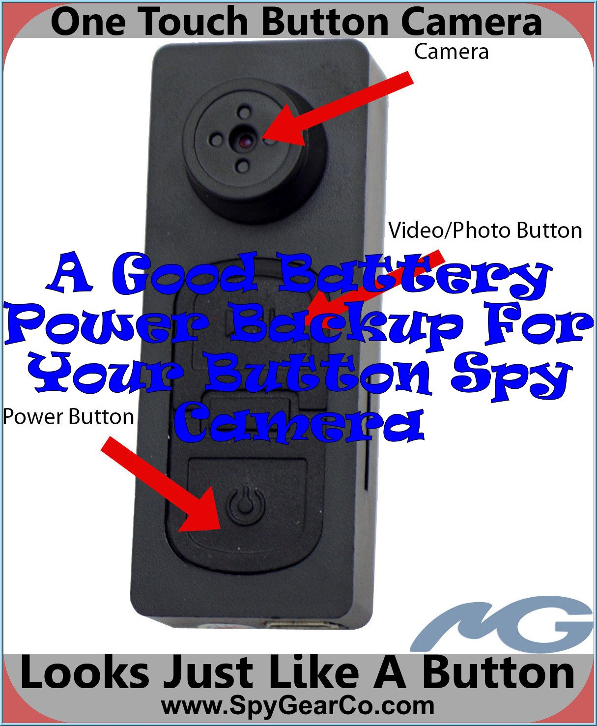 One Touch Button Camera