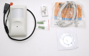 Motion Sensor w/Hidden 720p Wifi IP Camera