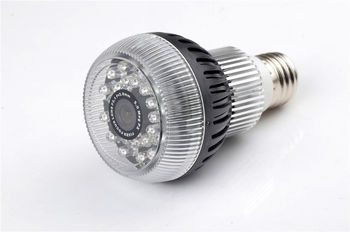 High Definition Night Vision Bulb Camera w/WiFi