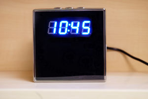 Square Wifi Hi-Def Mini Clock