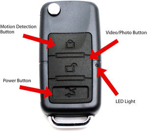 Keychain Multi Hidden Spy Camera/DVR