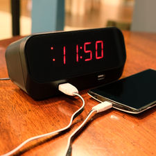 Wifi Alarm Clock Spy Camera/DVR