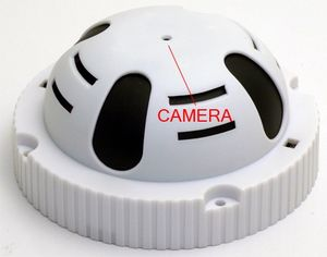 Dome Smoke Detector DVR with 10 Hr Battery