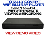 Bush Baby WiFi Blu-Ray Player Spy Camera and DVR