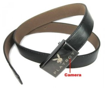 Playboy Belt Spy Cam & DVR