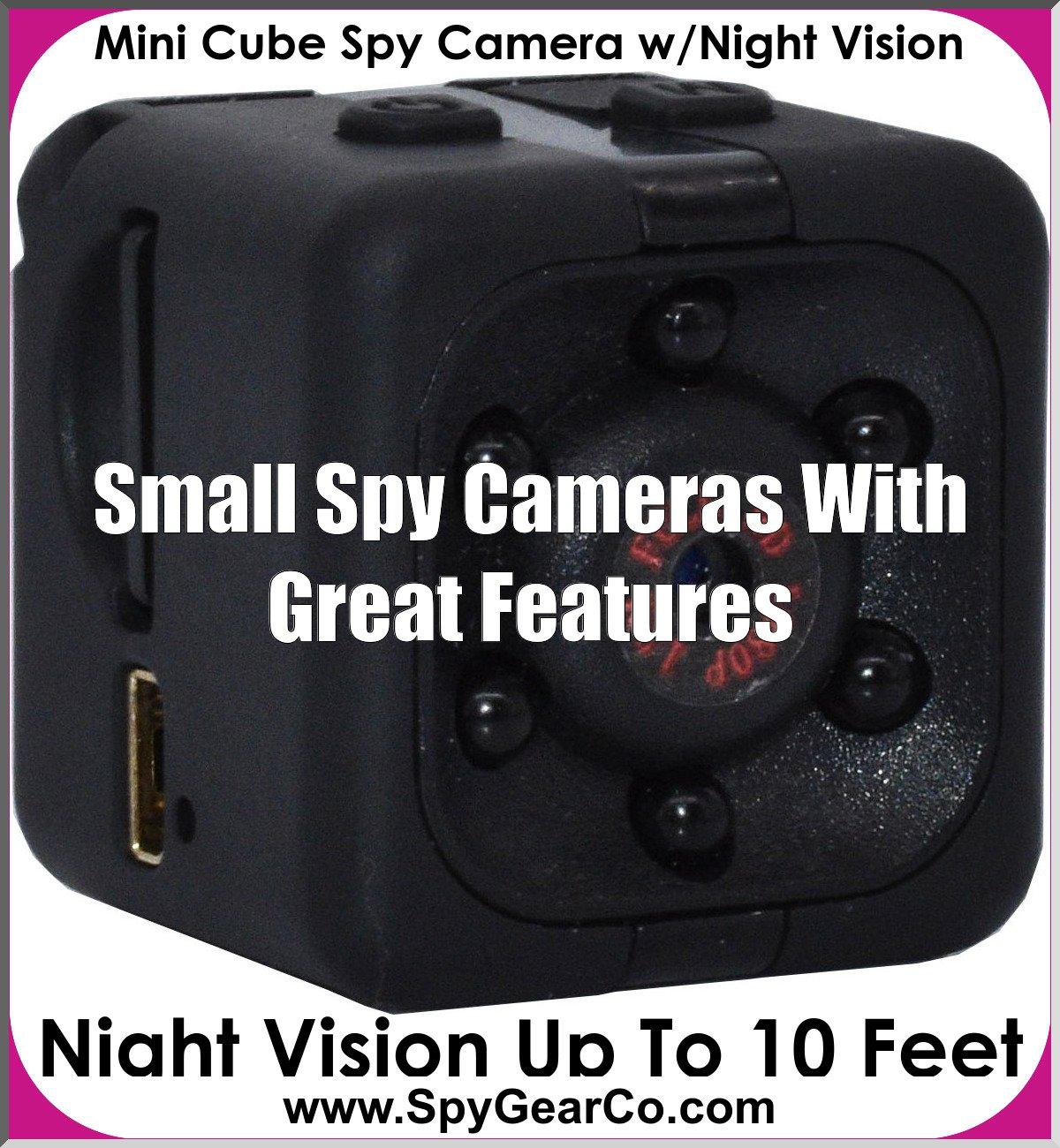 Mini Cube Spy Camera w/Night Vision