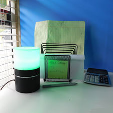 WIFI Covert Camera Mood Lamp w/Rotating Lens